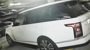 Range Rover Vogue White