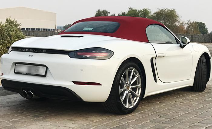 Porsche Boxster 2019