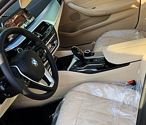 BMW 5 Series 2019 Hire in Dubai