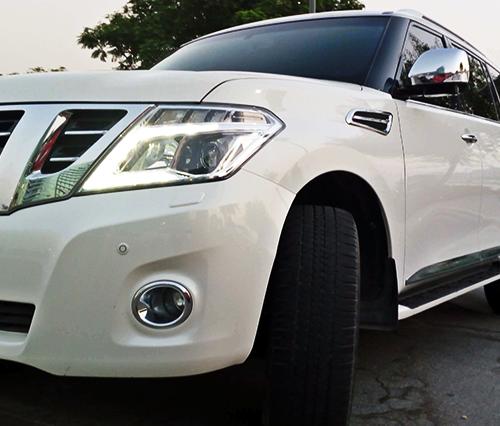 Nissan Patrol Platinum Rental in Dubai