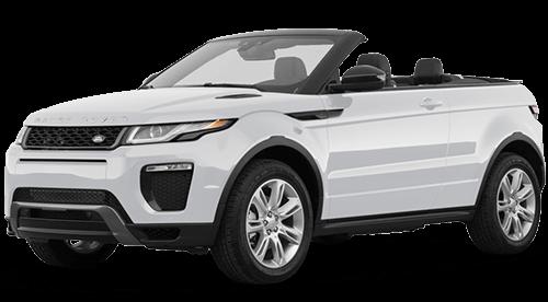 Range Rover Evoque Convertible Rental Dubai
