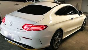 Rent Mercedes C Class in Dubai