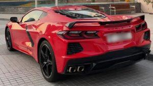 Chevrolet Corvette Rent in Dubai