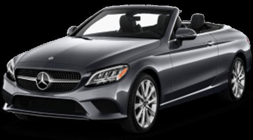 Mercedes C300 Convertible Rental in Dubai