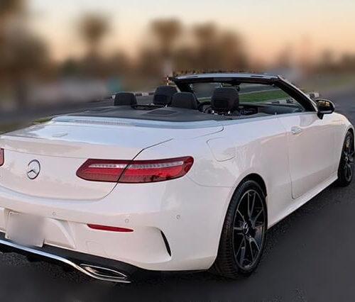 Mercedes E Class Convertible Rent in Dubai