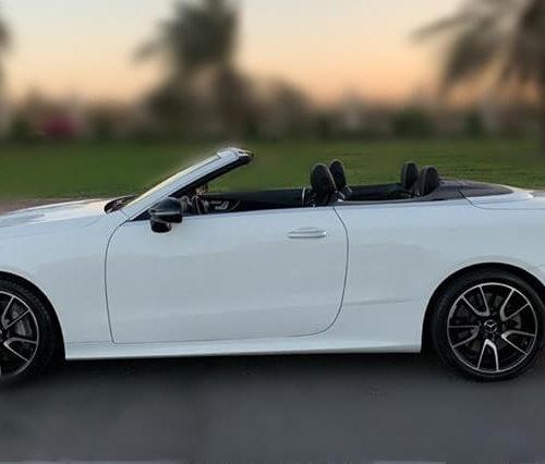 Mercedes E Class Convertible Hire in Dubai