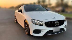 Mercedes E Class Convertible Rental in Dubai