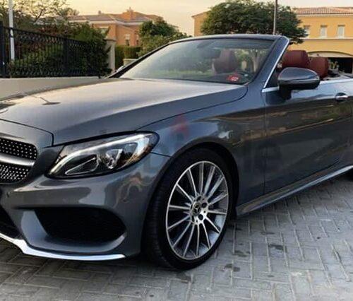 Mercedes C300 Convertible Rent Dubai