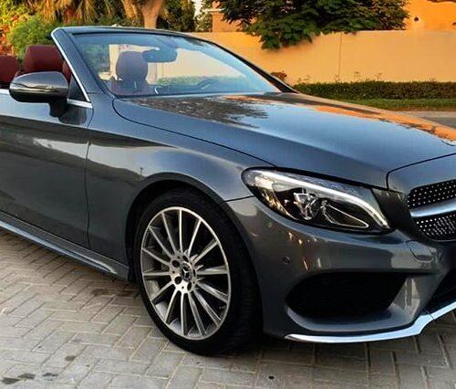 Mercedes C300 Convertible Rental Dubai