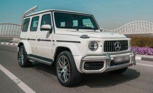 Mercedes G63 2021 Rental in Dubai